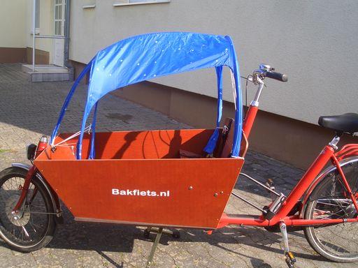eigenbau sonnendach f r bakfiets cargobike long cargobike forum. Black Bedroom Furniture Sets. Home Design Ideas